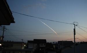 H2Aロケット打ち上げ。クリックで今回とは関係ない画像