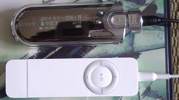 iPod shuffle NW-E507シルバー