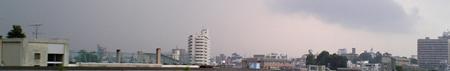2005.07 梅雨最終日に大雨が来た
