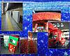 有楽町:赤いクリスマスイルミネーション